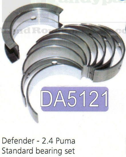 Main Bearing Set 2.4 Puma